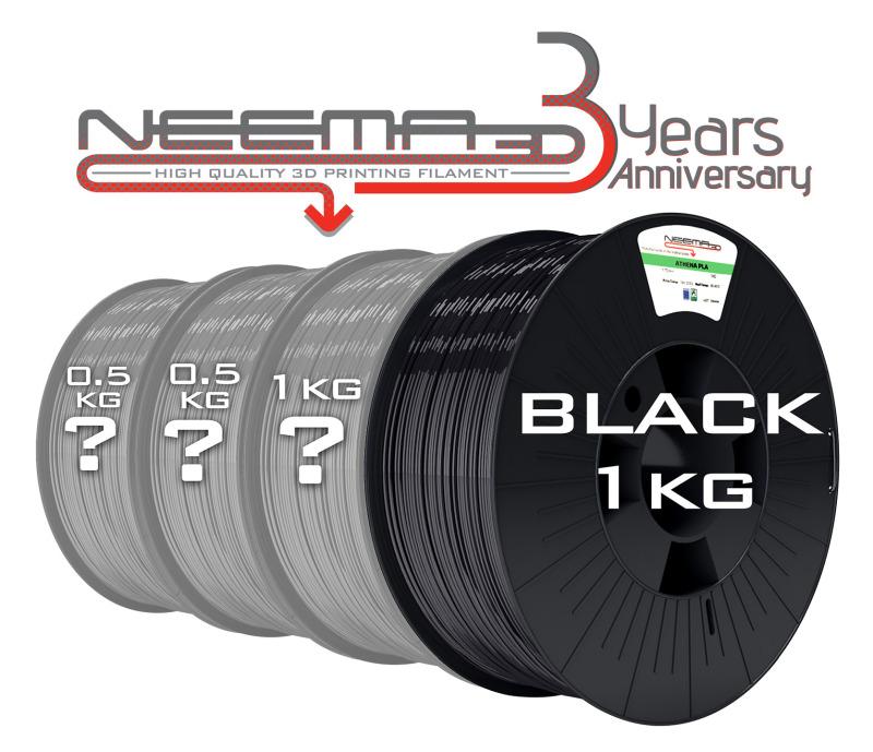 Anniversary Pack Black 3Kg