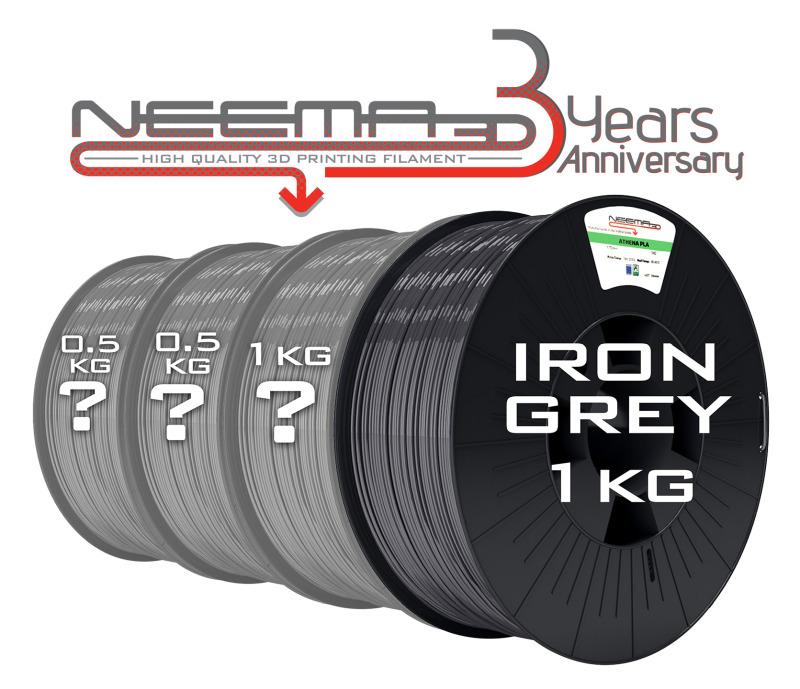 Anniversary Pack Iron Grey 3Kg